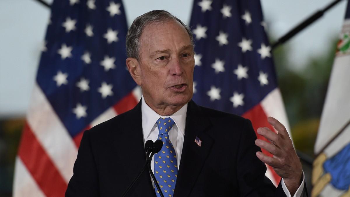 US-Vorwahl 2020: Bloomberg in Umfrage auf Platz zwei