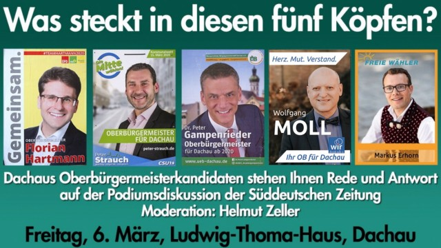 Podiumsdiskussion Dachau Kommunalwahl 2020