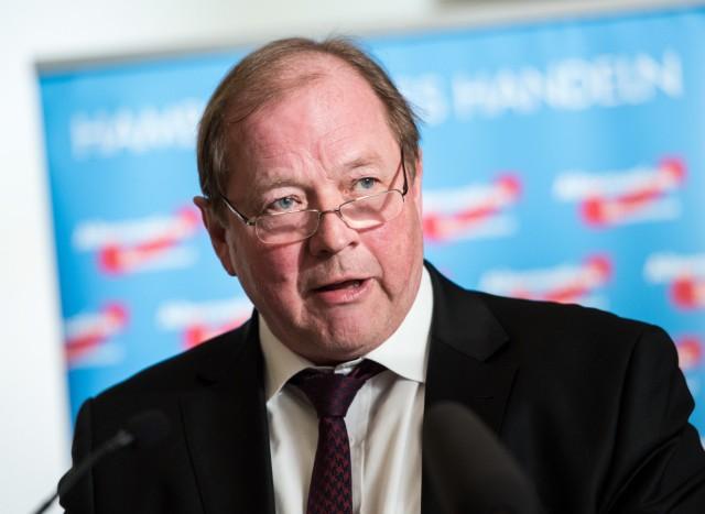 AfD-Spitzenkandidat Dirk Nockemann