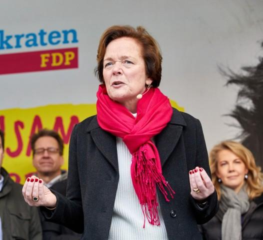 FDP-Aktionstag in Hamburg