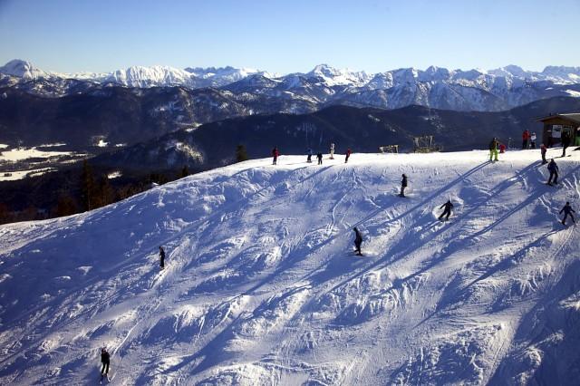 Brauneck Skiläufer