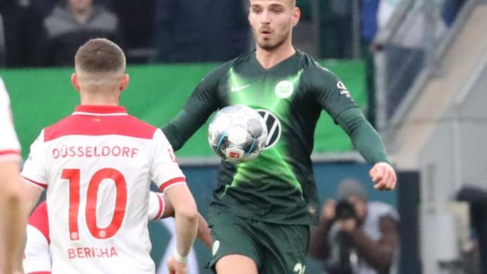 VfL vs Düsseldorf Fußball, Bundesliga, Saison 2019/2020, 21. Spieltag, VfL Wolfsburg vs Fortuna Düsseldorf, Bild zeigt: