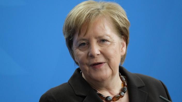New Finnish Prime Minister Sanna Marin Meets With Angela Merkel