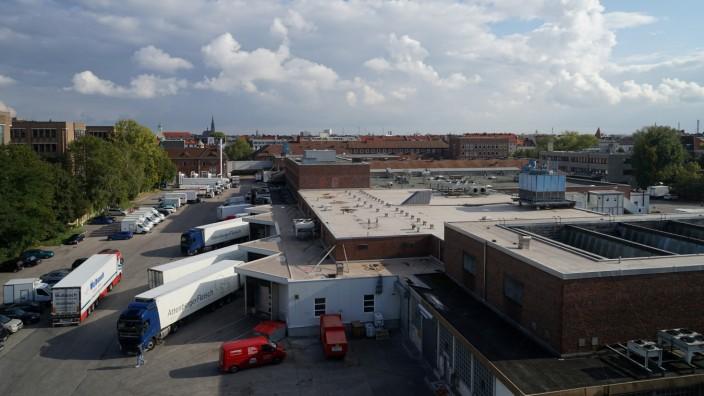 Isarvorstadt: Der Münchner Schlachthof ist Grund der Auseinandersetzung um die Geruchsbelästigung in der Isarvorstadt.