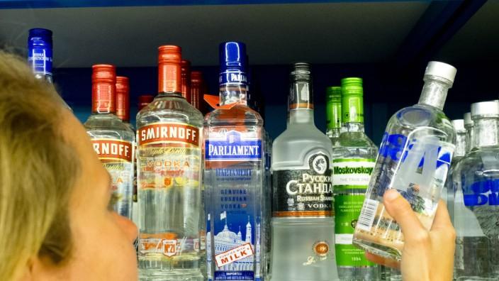 Alkoholeinkauf von Jugenlichen.