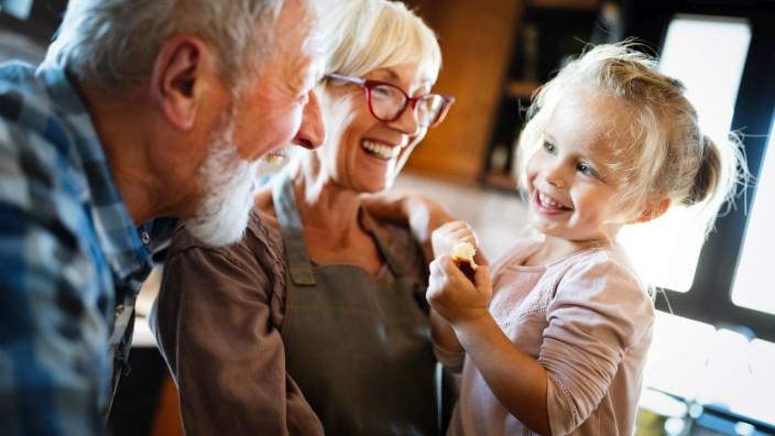Quality Time mit Oma und Opa