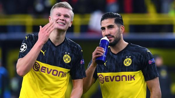 Fußball Champions League Achtelfinale Borussia Dortmund - Paris Saint-Germain am 18.02.2020 im Signal Iduna Park in Dort; Haaland