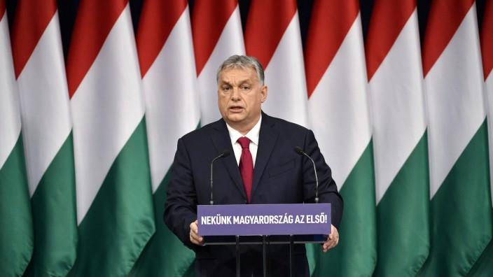 Ungarns Ministerpräsident Orban zur Lage Ungarns