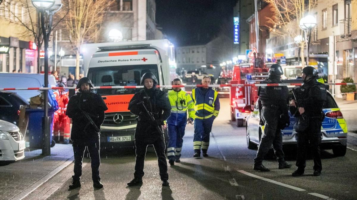 Hanau: Elf Tote nach Schüssen in Shisha-Bars