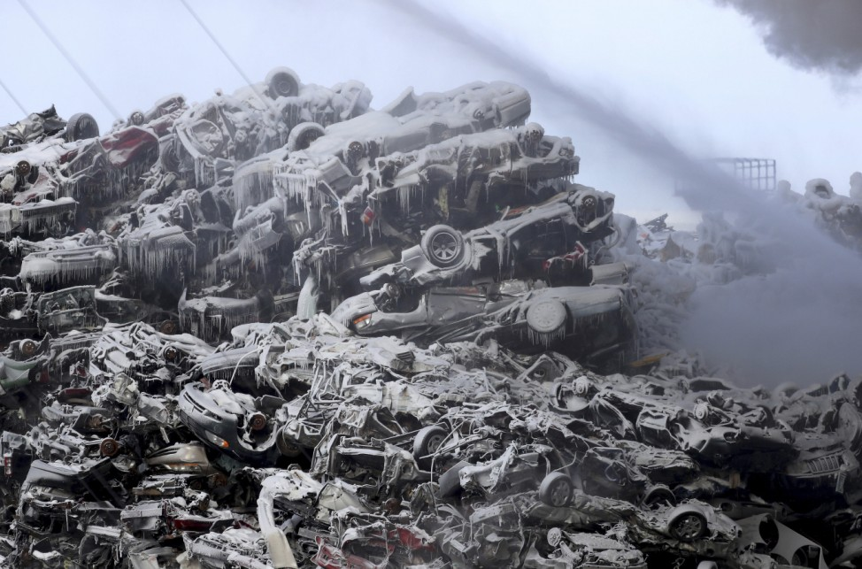Brand in Recyclinganlage