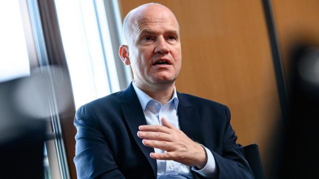 Ralph Brinkhaus CDU / CSU Interview und Portrait von Ralph Brinkhaus Vorsitzender der CDU / CSU Bundestagsfraktion Berli