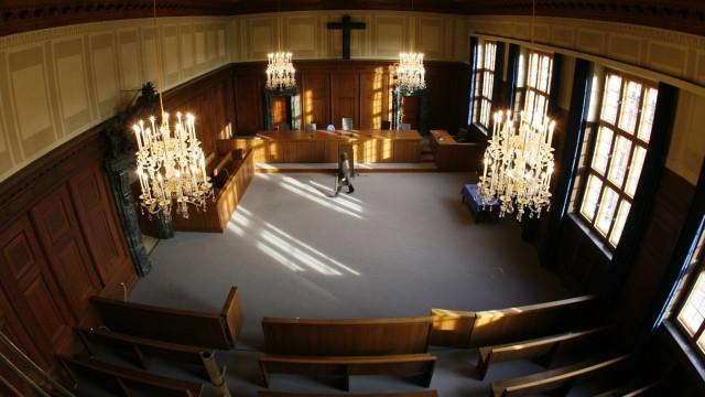 Im berühmtesten Gerichtssaal der Welt fällt das letzte Urteil