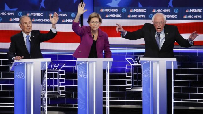Wahlkampf in den USA - TV Debatte