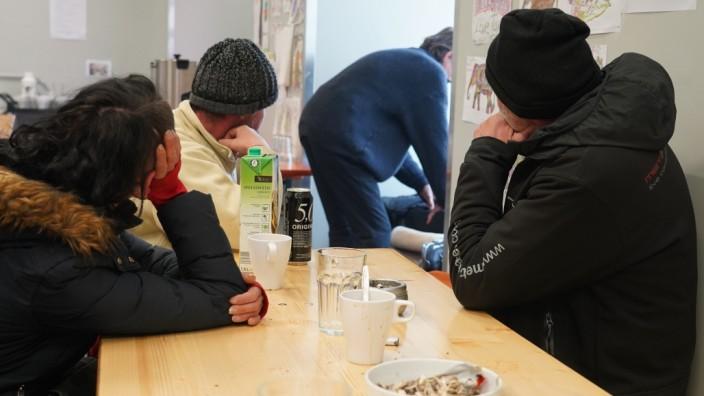 An der Dachauer Straße beim Hauptbahnhof gibt es nun ein Begegnungszentrum für Trinker und Obdachlose.