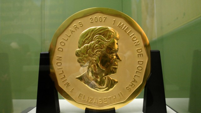 """Prozess wegen Diebstahls der Goldmünze ´Big Maple Leaf"""""""