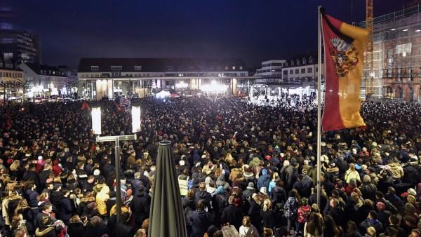 Hanau Anschlag Mahnwache