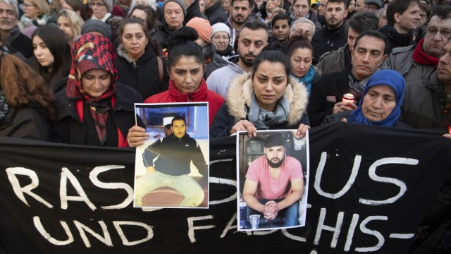 Anschlag in Hanau: Gedenken an die Opfer des rechten Terrors