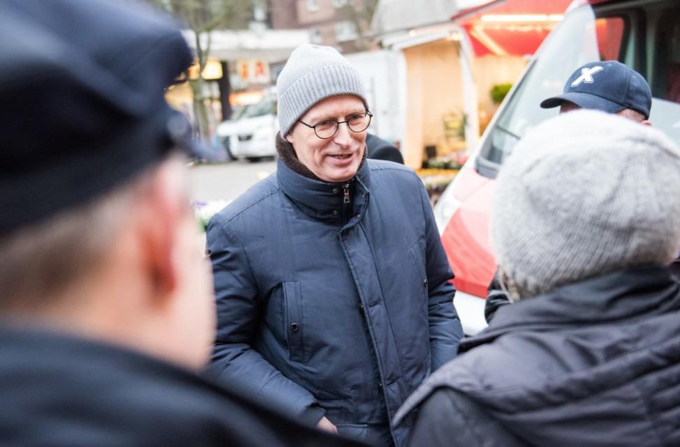 Ein Tag mit Hamburgs Erstem Bürgermeister Tschentscher