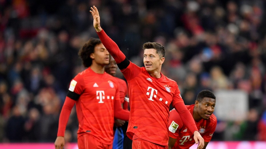 Dank Lewandowski: Bayerns zähes 3:2 gegen Paderborn