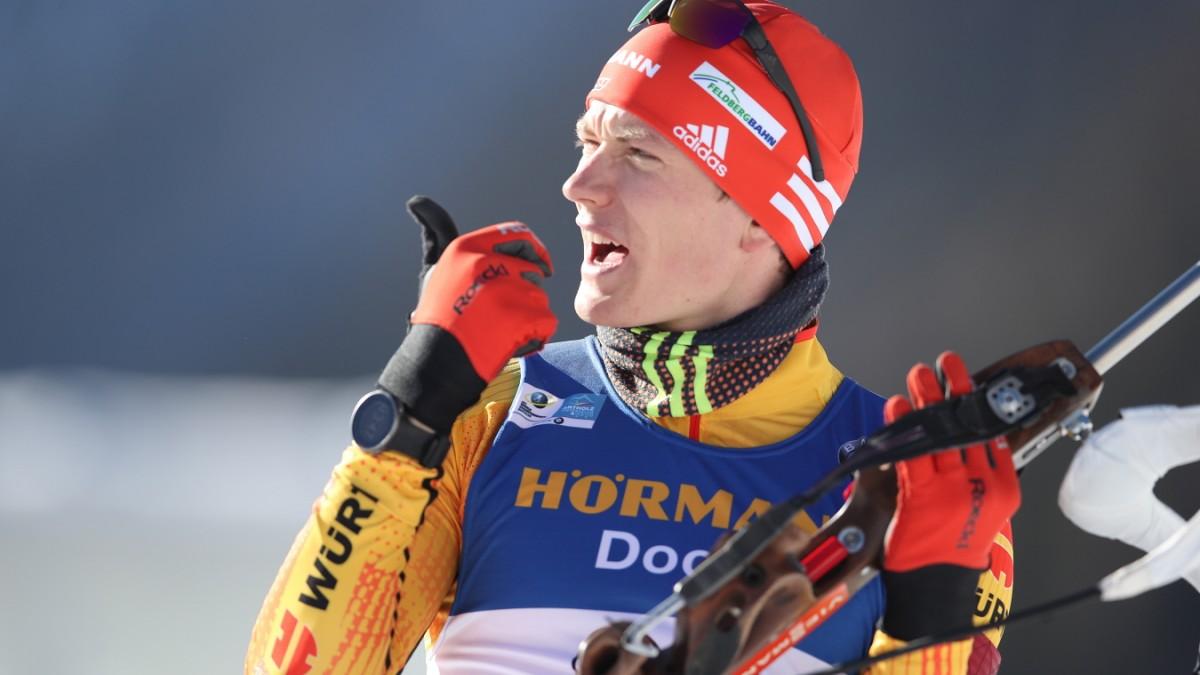 Biathlon-WM: Deutsche Staffel gewinnt Bronze