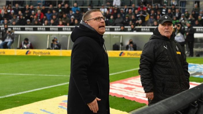 xnjx 22.02.2020; Moenchengladbach; 1. Fussball-Bundesliga; Borussia Moenchengladbach vs.TSG 1899 Hoffenheim Max Eberl (; Eberl