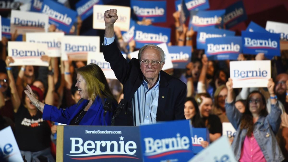 Vorwahlen in den USA: Sanders gewinnt Nevada deutlich