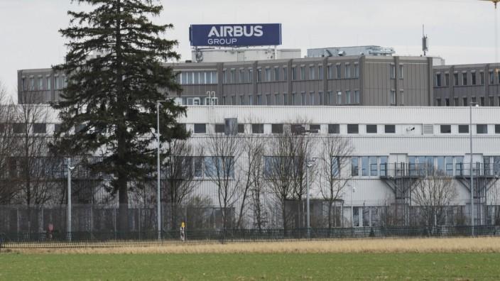 Ottobrunn, Taufkirchen, IABG, Airbus-Gelände an der Willy-Messerschmitt-Straße