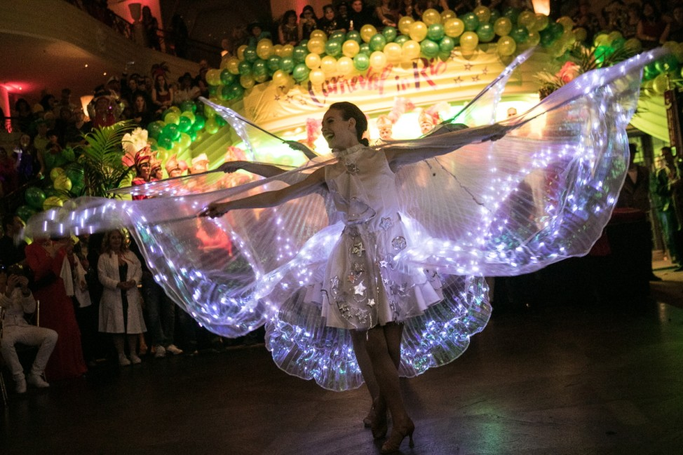brasilianisches Kostümfest, Festsaal Hotel Bayerischer Hof