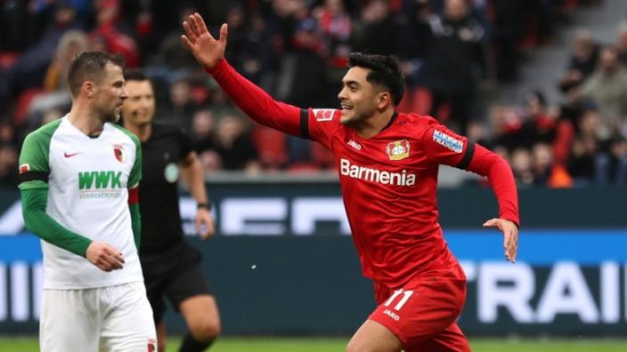Bayer 04 Leverkusen v FC Augsburg - Bundesliga