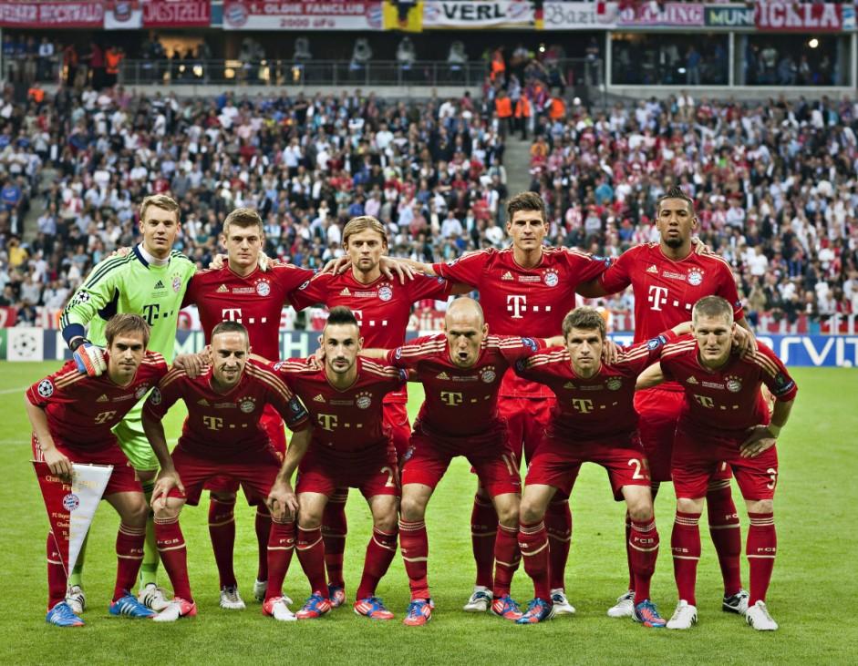 FC Bayern FC Chelsea, 2012, Mannschaftsaufstellung
