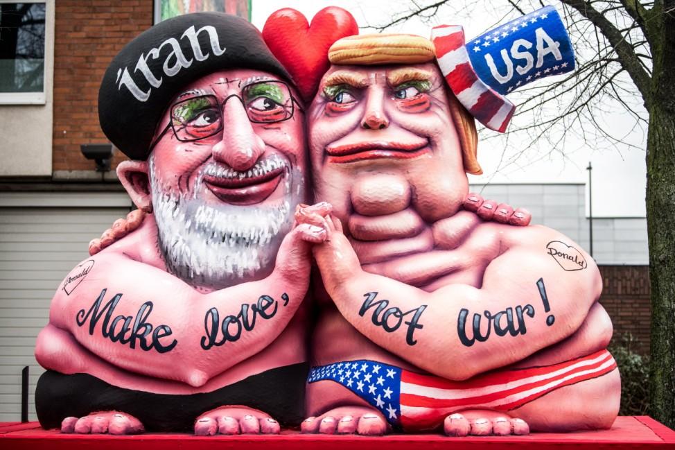 Dusseldorf Holds Rose Monday Carnival Parade