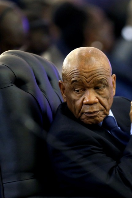 FILE PHOTO: Lesotho's Prime Minister Thomas Thabane attends the 37th Ordinary SADC Summit of Heads of State and Government in Pretoria,