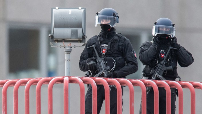 Teurer Polizeieinsatz an der MHH