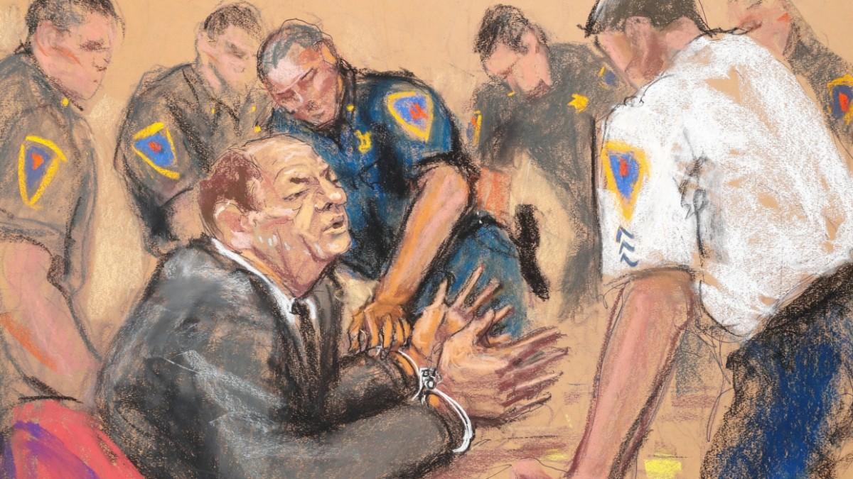 Weinstein-Urteil: Schuldig, auch vor dem Gericht