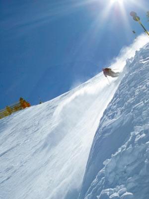 Die steilsten Pisten: Harakiri, Bergbahnen Mayrhofen
