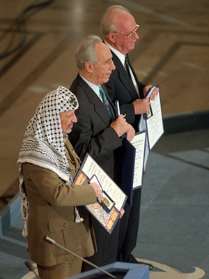 Arafat, Rabin, Peres, AP