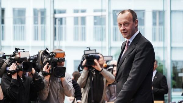 Merz CDU Pressekonferenz