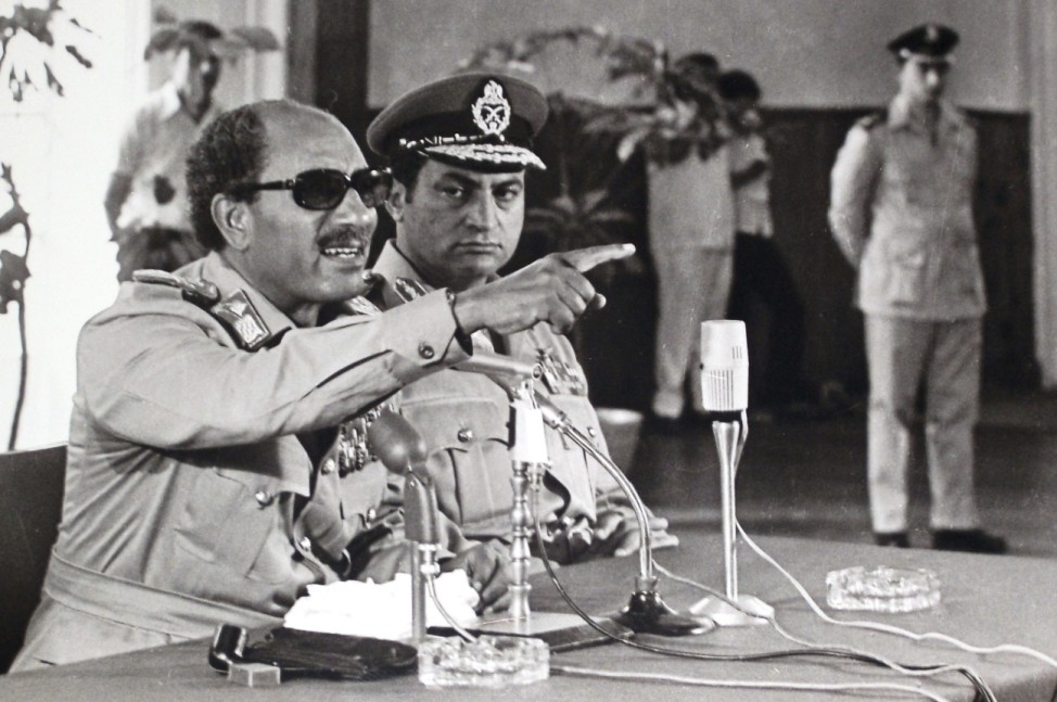 Anwar Sadat, Hosni Mubarak