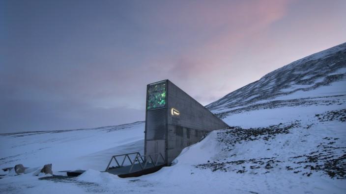 Saatgutdatenbank Spitzbergen. (Svalbard Global Seed Vault)