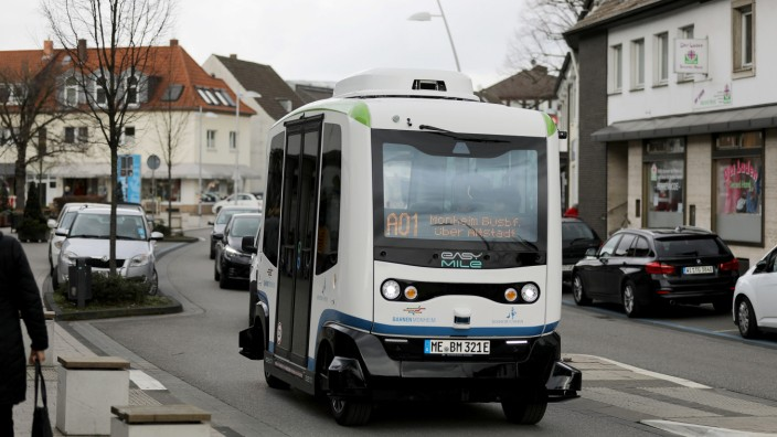 Autonom fahrende Busse in Monheim