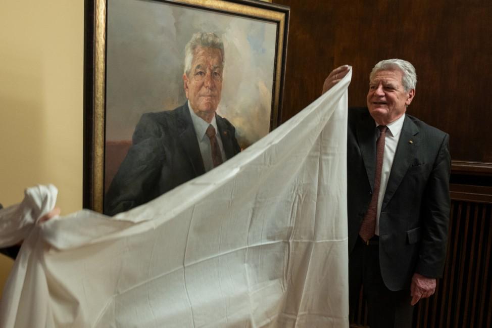 Porträt vom Ex-Bundespräsident Gauck
