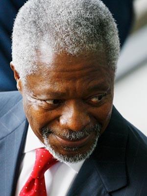 Kofi Annan, Getty