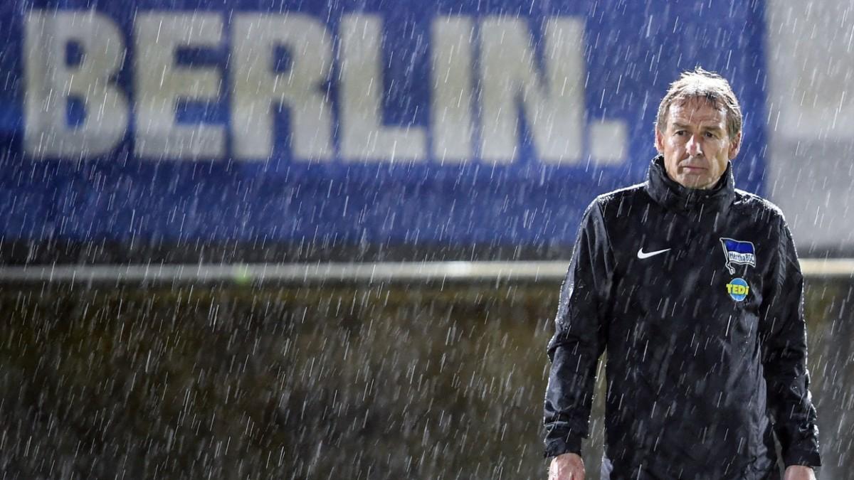 """Hertha BSC vs. Klinsmann: """"Widerlich, unverschämt"""""""