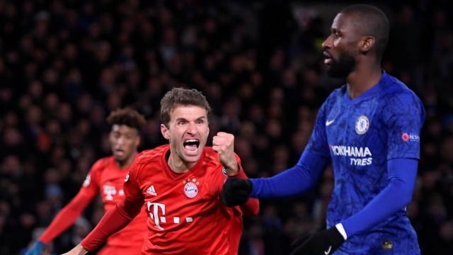 Champions League - Round of 16 First Leg - Chelsea v Bayern Munich
