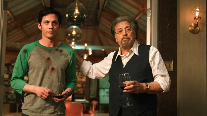 "Amazon-Serie ""Hunters"": Supernazijäger: Al Pacino (r.) als Meyer Offermann in ""Hunters""."