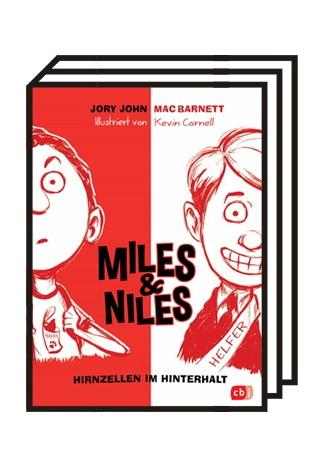 Taschenbücher: Jory John/ Mac Barnett: Miles & Niles. Band 1: Hirnzellen im Hinterhalt. Mit Illustrationen von Mac Barnett.