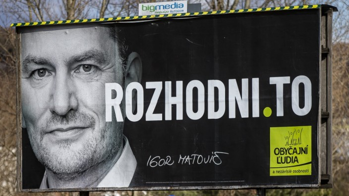 Slovakia Readies For Next Week's Parliamentary Election