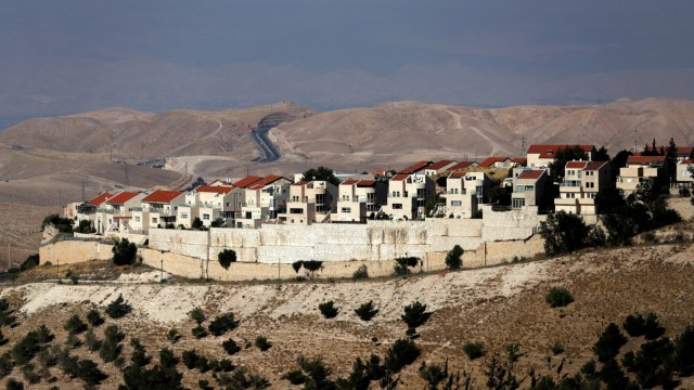 FILE PHOTO: A general view of the Israeli settlement of Maale Adumim in the occupied West Bank