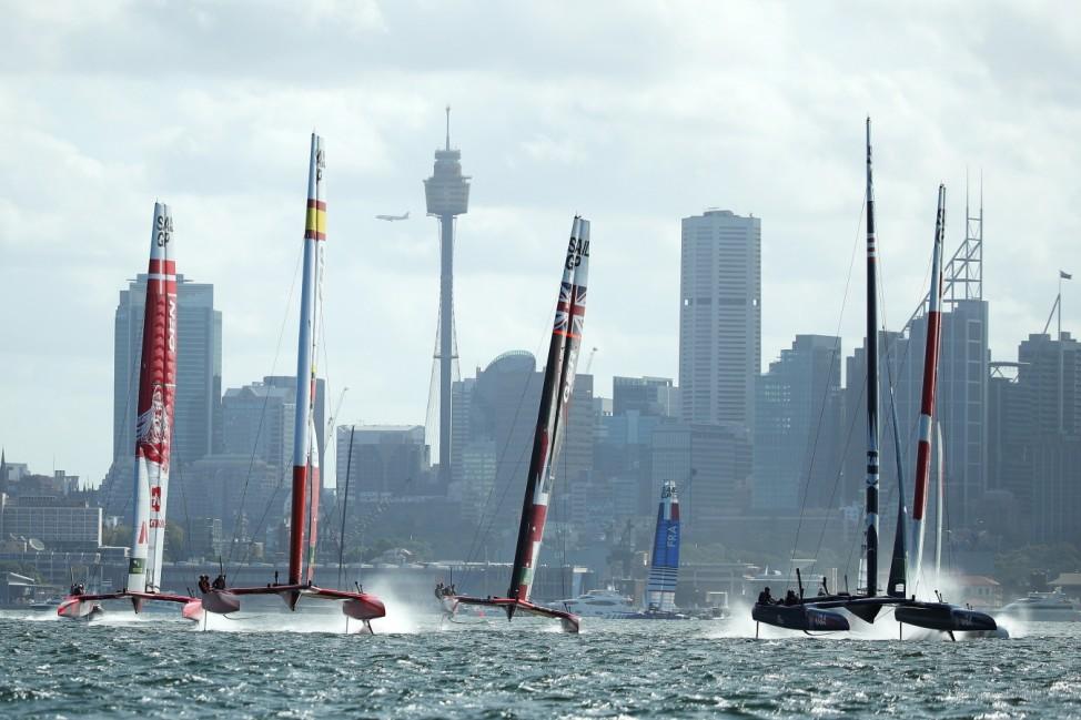SailGP Sydney Raceday 1