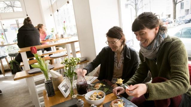 Café Sommer in der Sommerstraße in Untergiesing, für die Frühstücks-Cafe-Serie